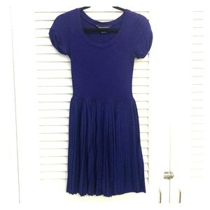 French Connection purple short sleeve dress size 4
